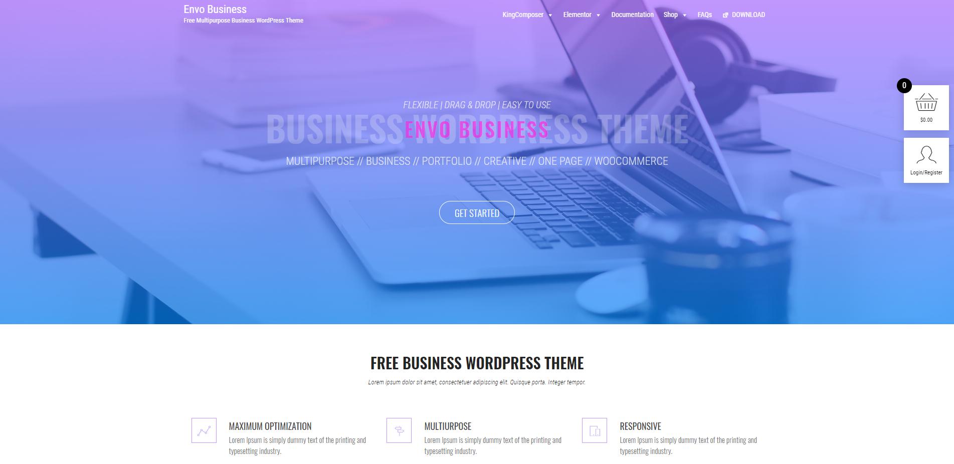 10+ Hand-picked best free multipurpose WordPress themes 3