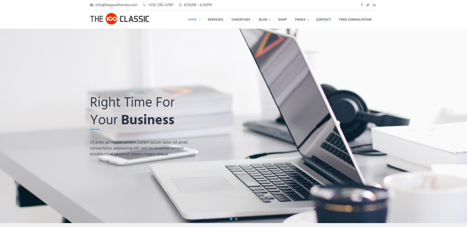 10+ Hand-picked best free multipurpose WordPress themes 8
