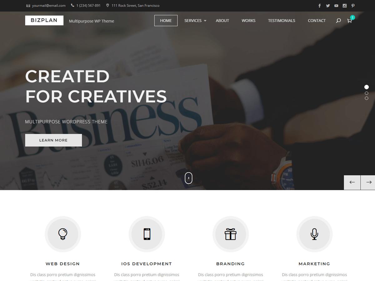 60+ Best Free WordPress Themes of 2019 33