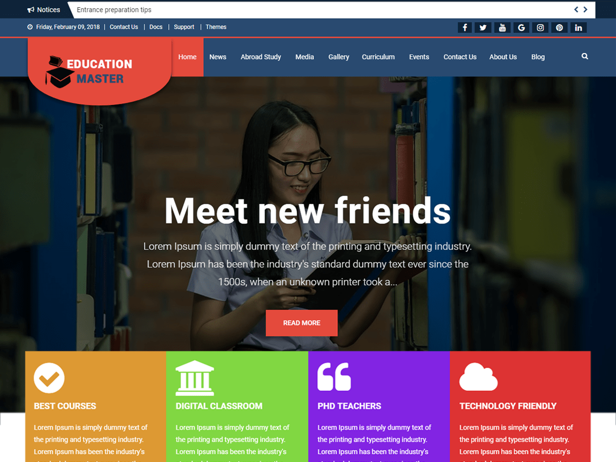 60+ Best Free WordPress Themes of 2019 8