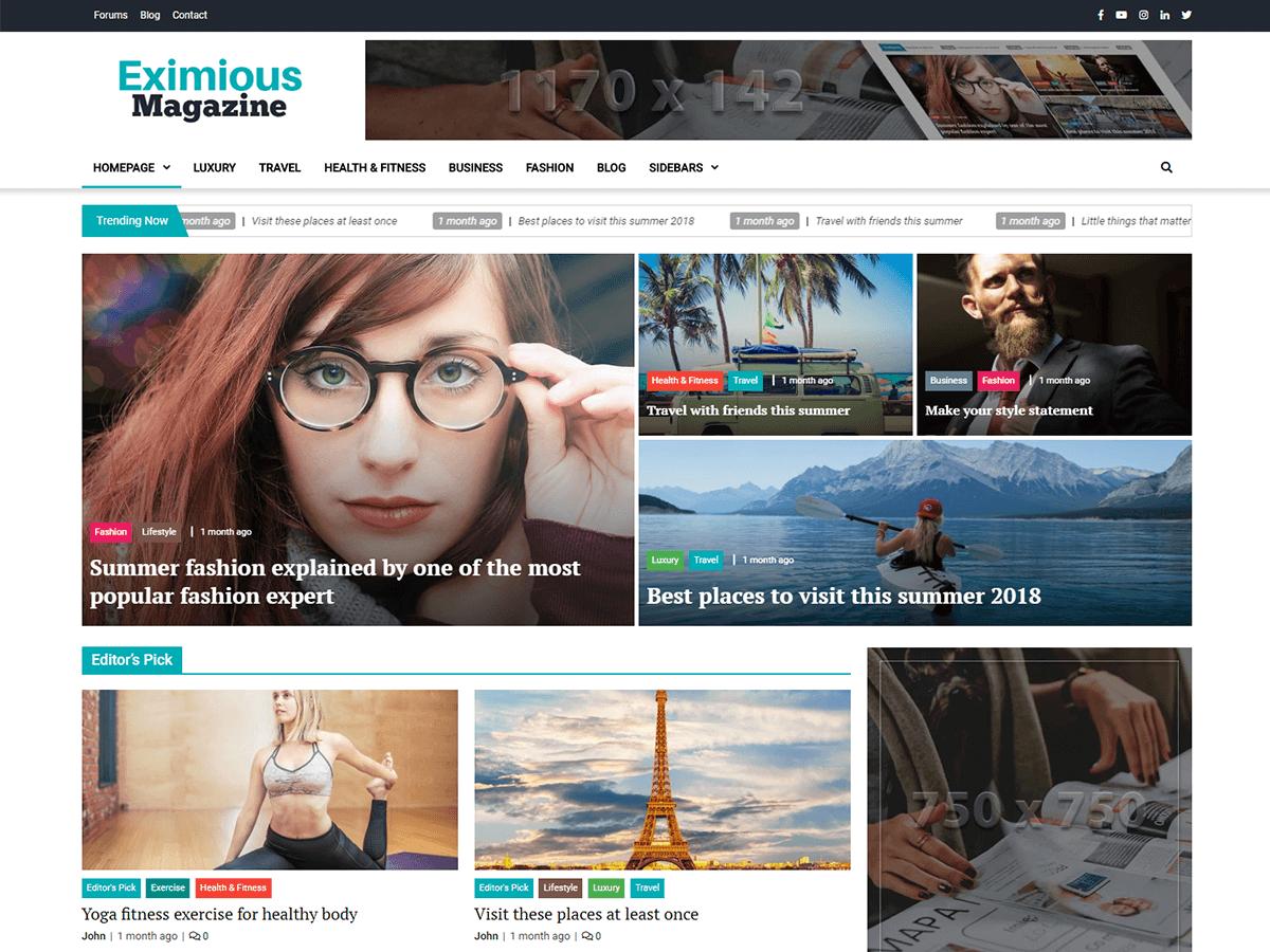60+ Best Free WordPress Themes of 2019 46