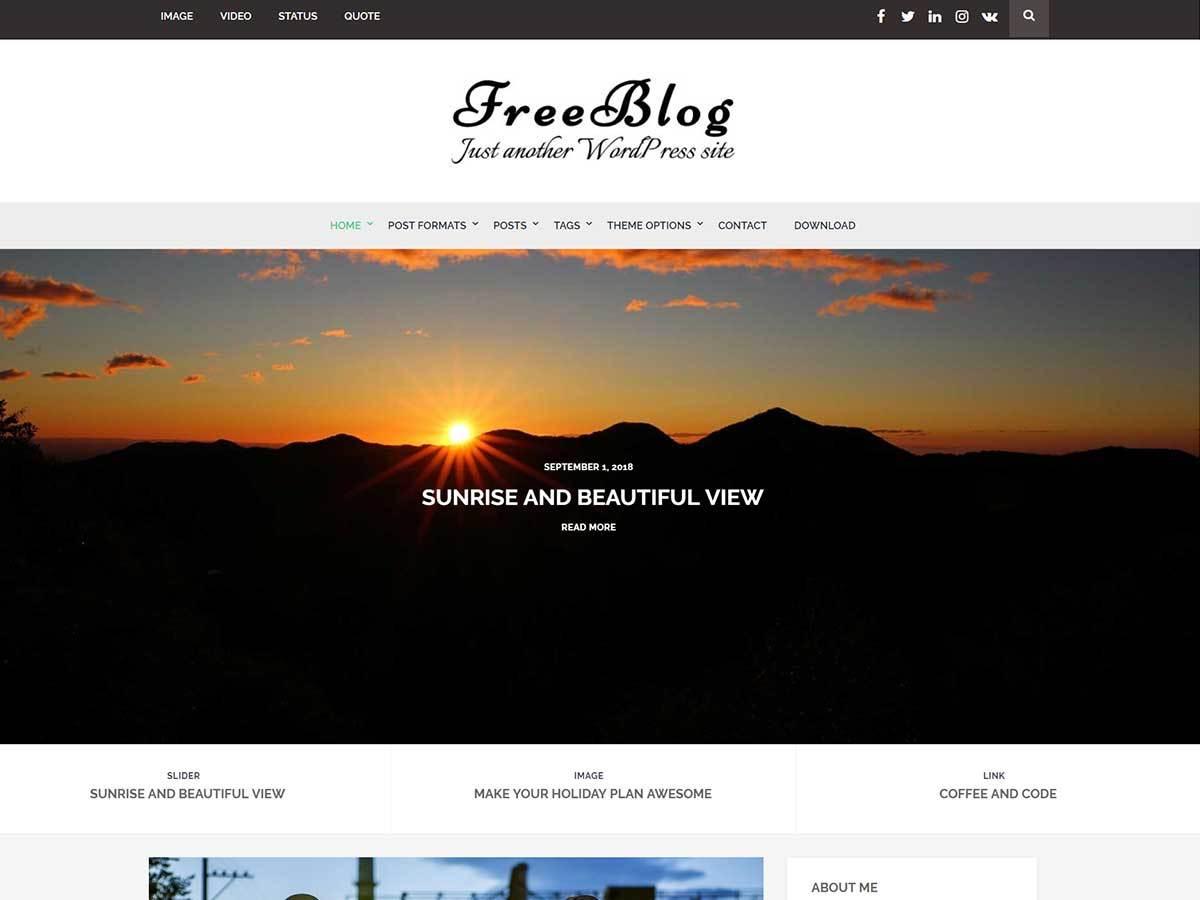 60+ Best Free WordPress Themes of 2019 28