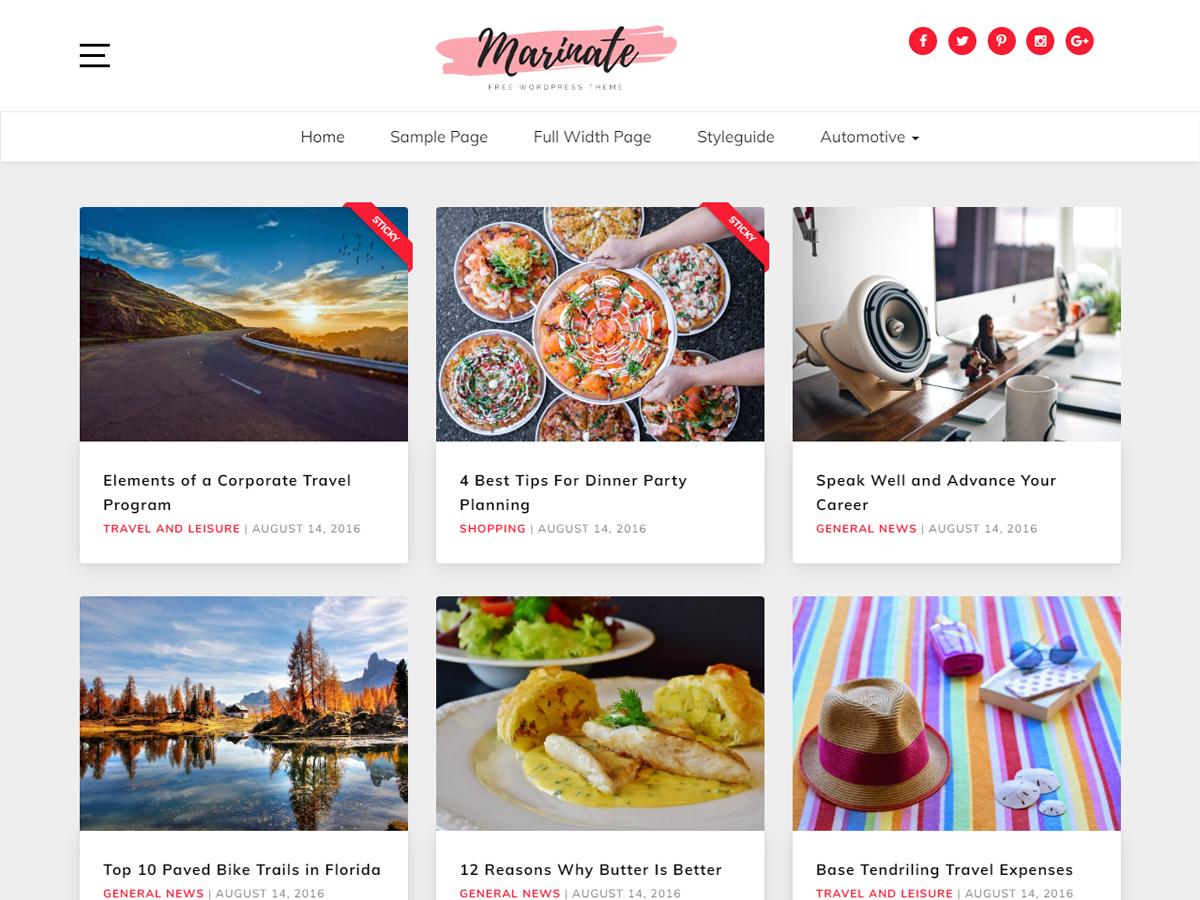 60+ Best Free WordPress Themes of 2019 39