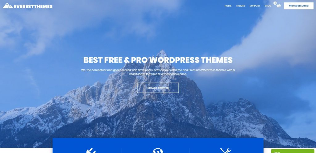 everestthemes.com Themebeez christmas & new year WordPress deals