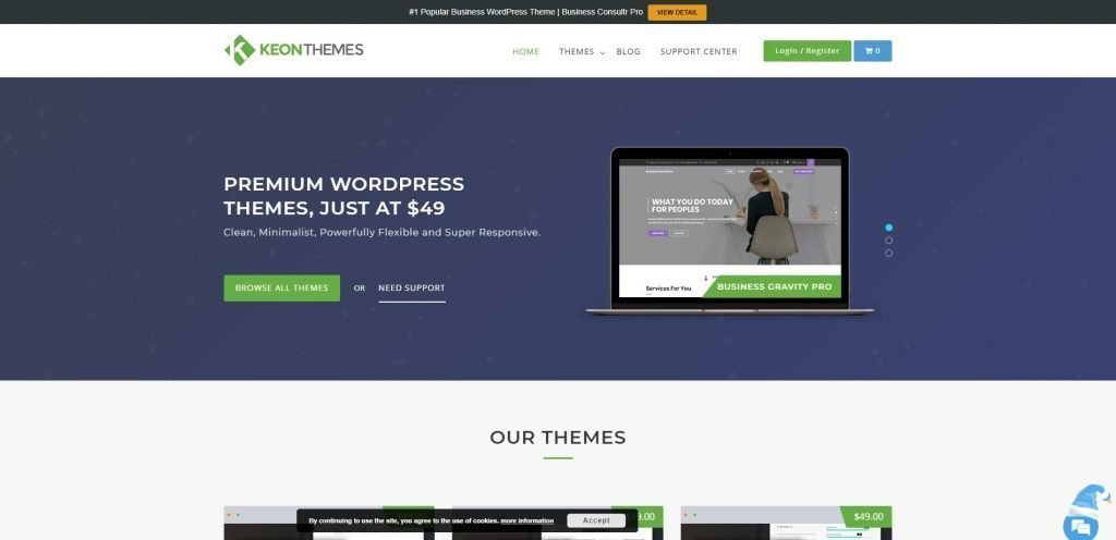 Keon themes christmas & new year WordPress deals