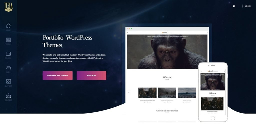 Teslathemes christmas & new year WordPress deals