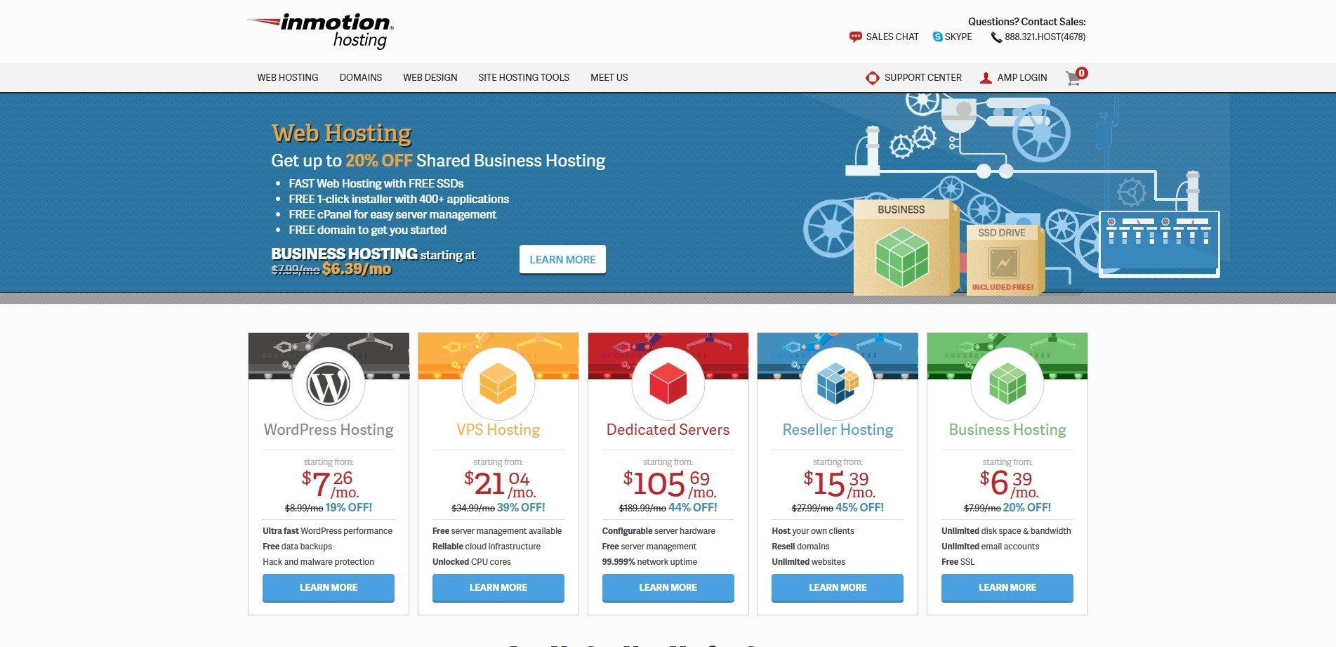 Best WordPress Hosting Compared [2019] 10