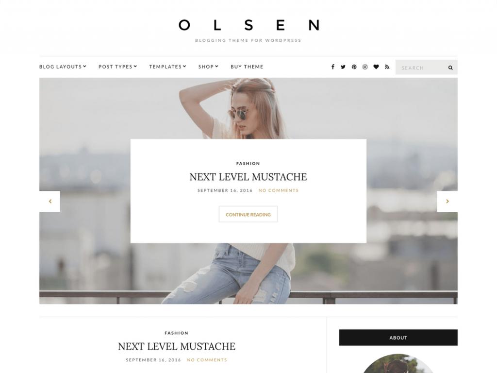 olsen blog