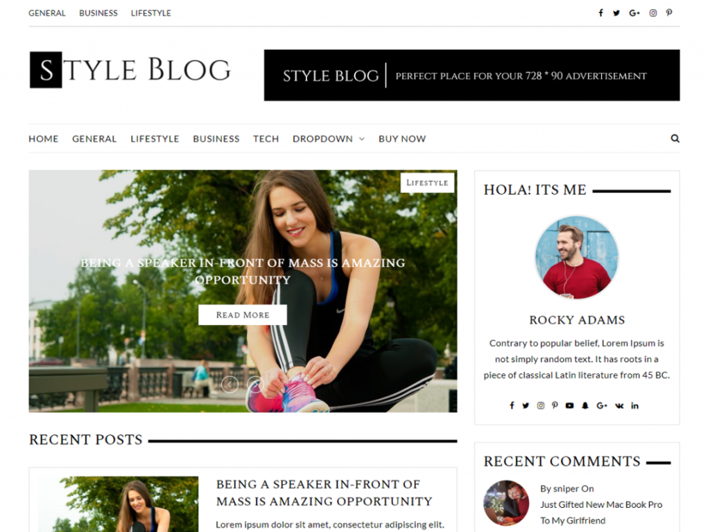 Style blog Screen_Shot png.