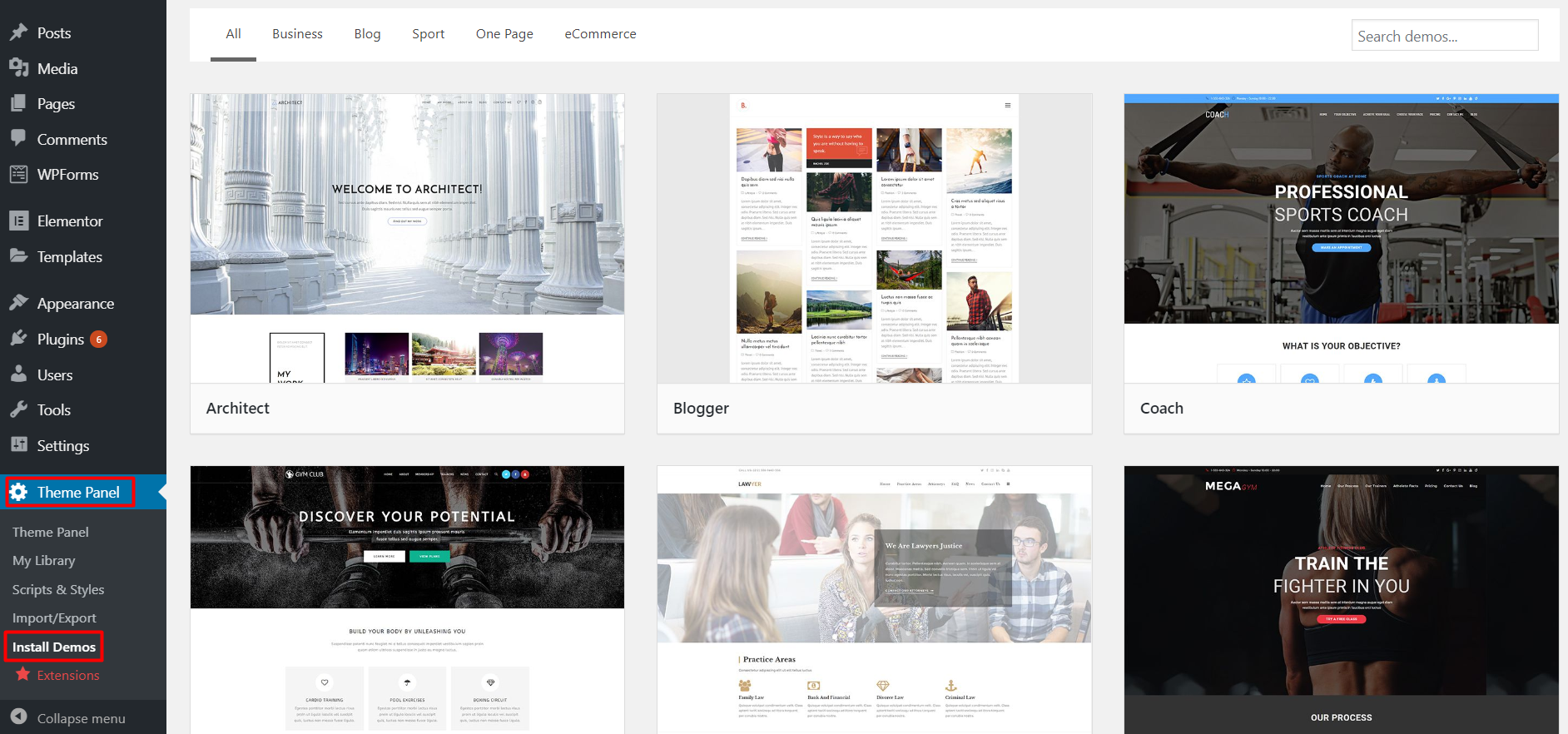 Page Builder WordPress Theme