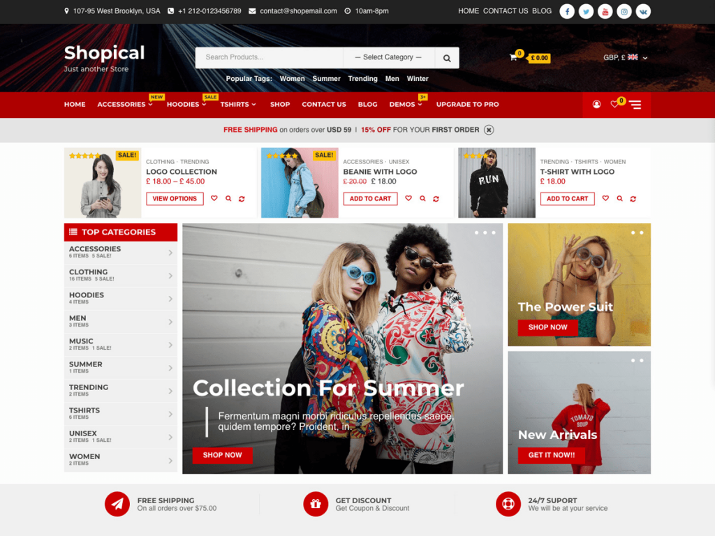 Shopical screenshot