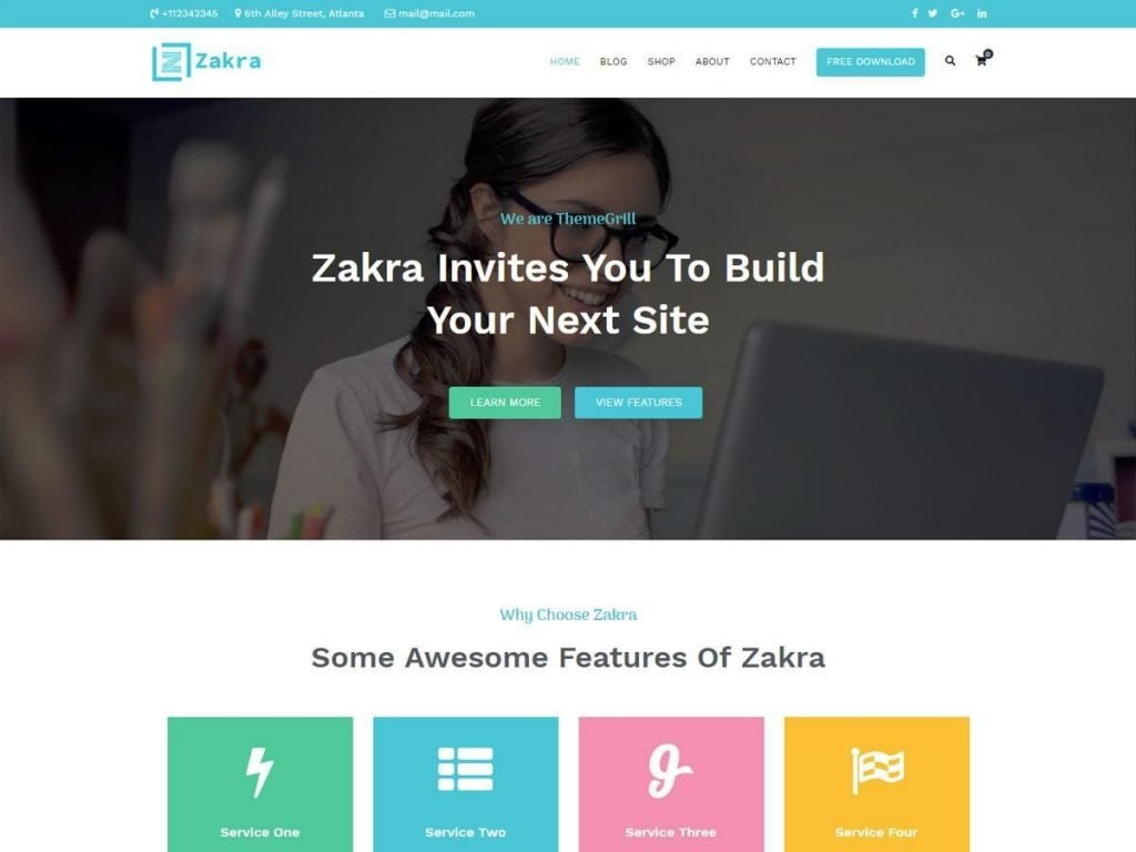 Zakra screenshot