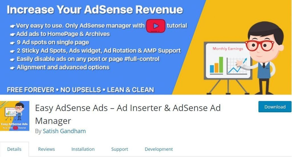 Best Free Google AdSense WordPress Plugin 12
