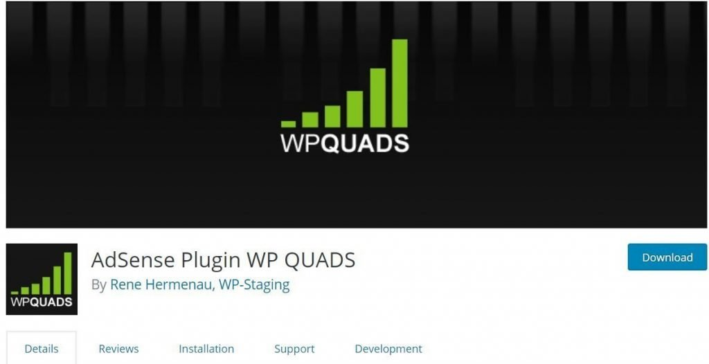 WP QUADS-Quick AdSense Reloaded Screen_Shot.Png