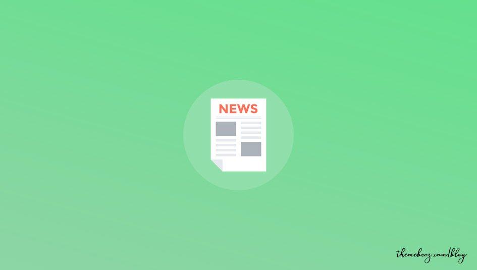Best Free Magazine WordPress Themes 2019