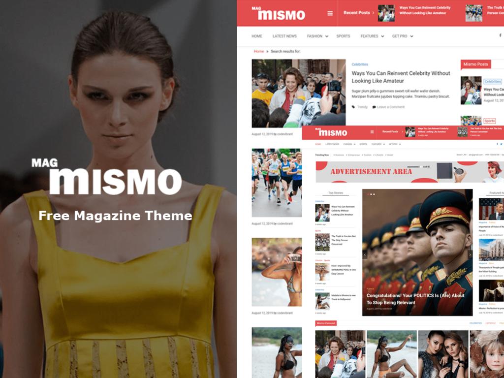 60+ Best Free WordPress Themes of 2019 5