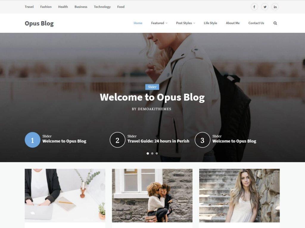 60+ Best Free WordPress Themes of 2019 59