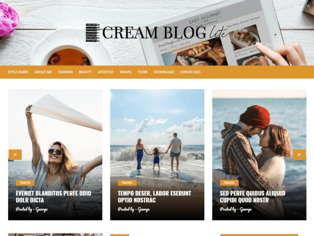 Cream blog lite screenshot.png