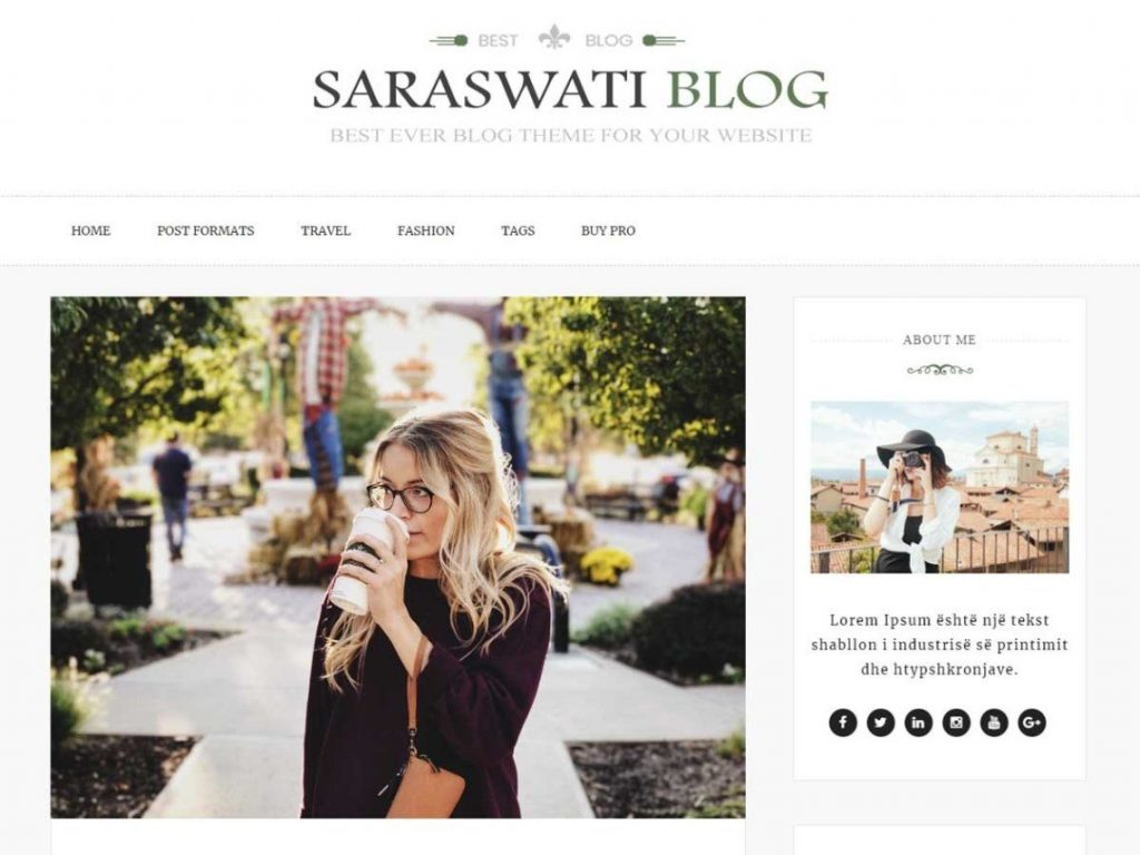 Saraswati Blog Screen_Shot