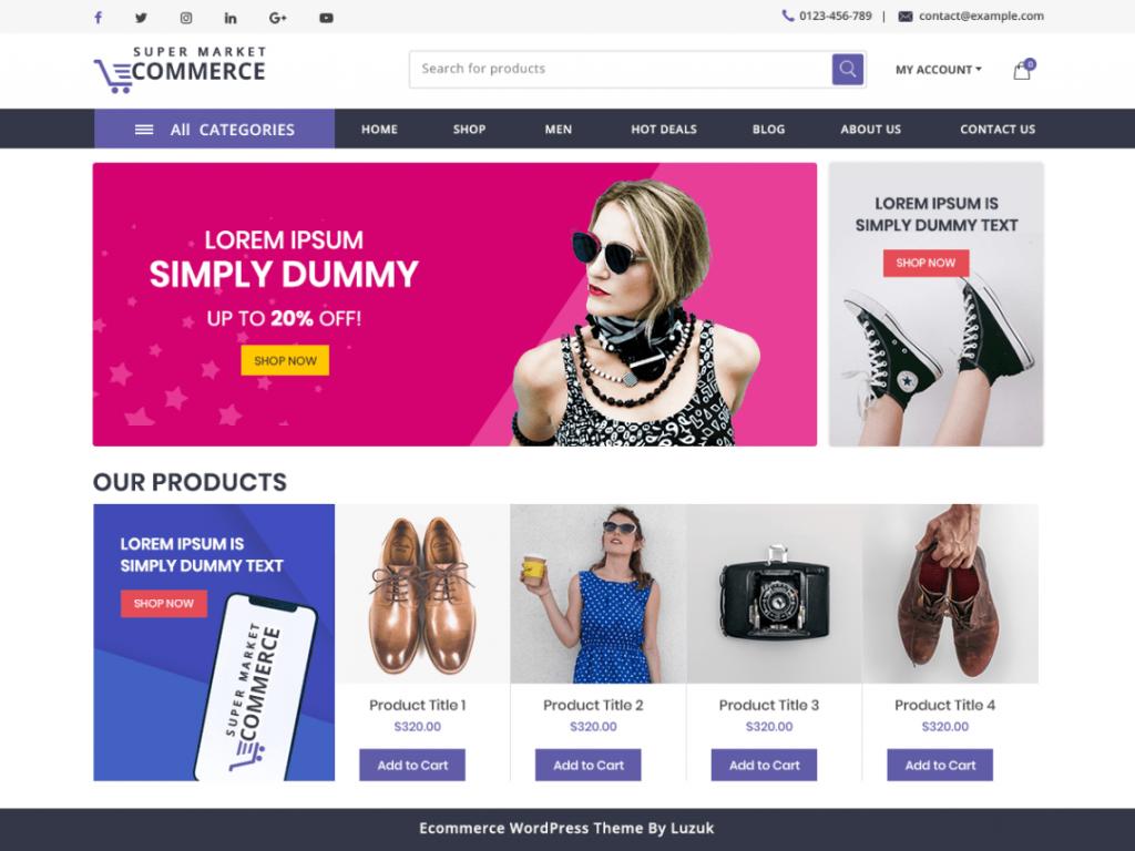 SuperMarket Ecommrce Screen_Shot.Png