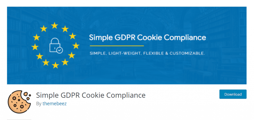 Simple GDPR Cookie Compliance Screen_Shot.Png