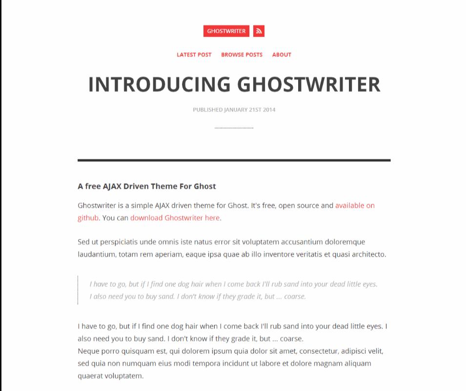 GhostWriter Screen_Shot
