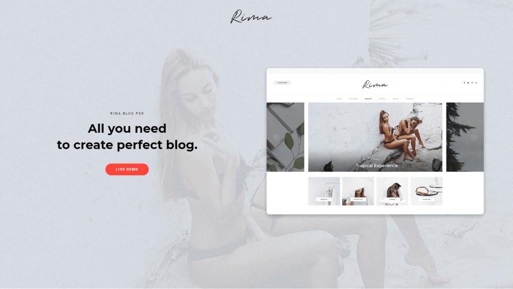 rima theme screenshot