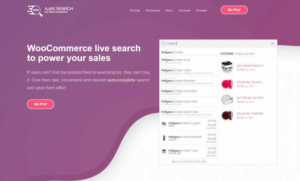 Ajax Search for WooCommerce Screenshot