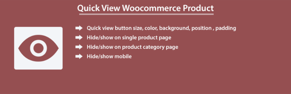 Quick View WooCommerce Product Plugin ss