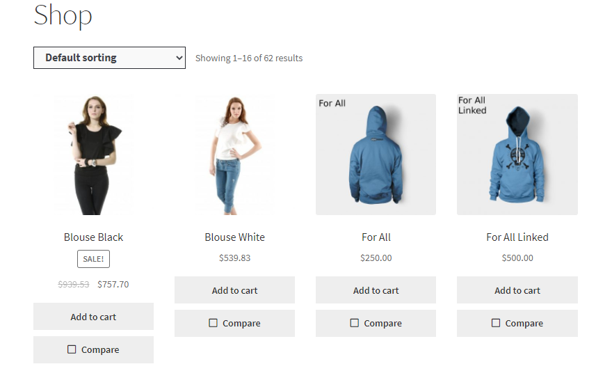 WooCommerce Products Compare Plugin ss