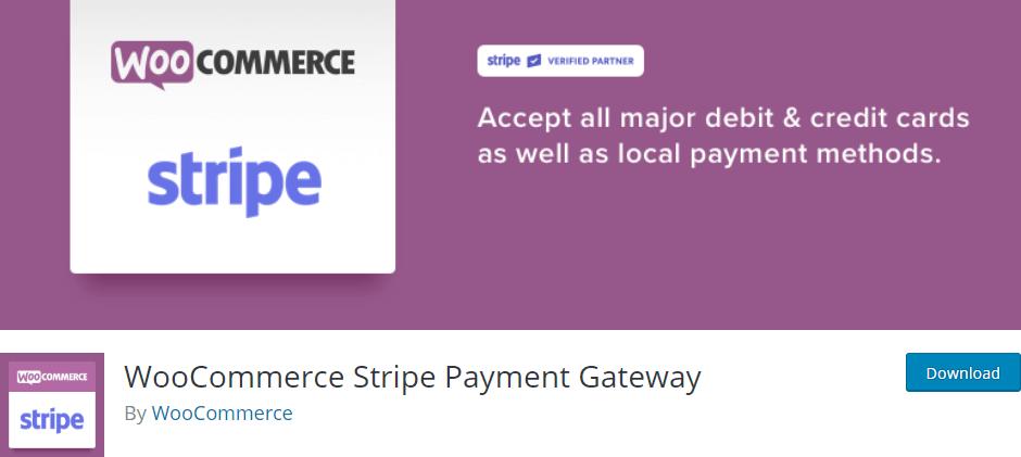 WooCommerce Stripe Payment Gateway Screenshot
