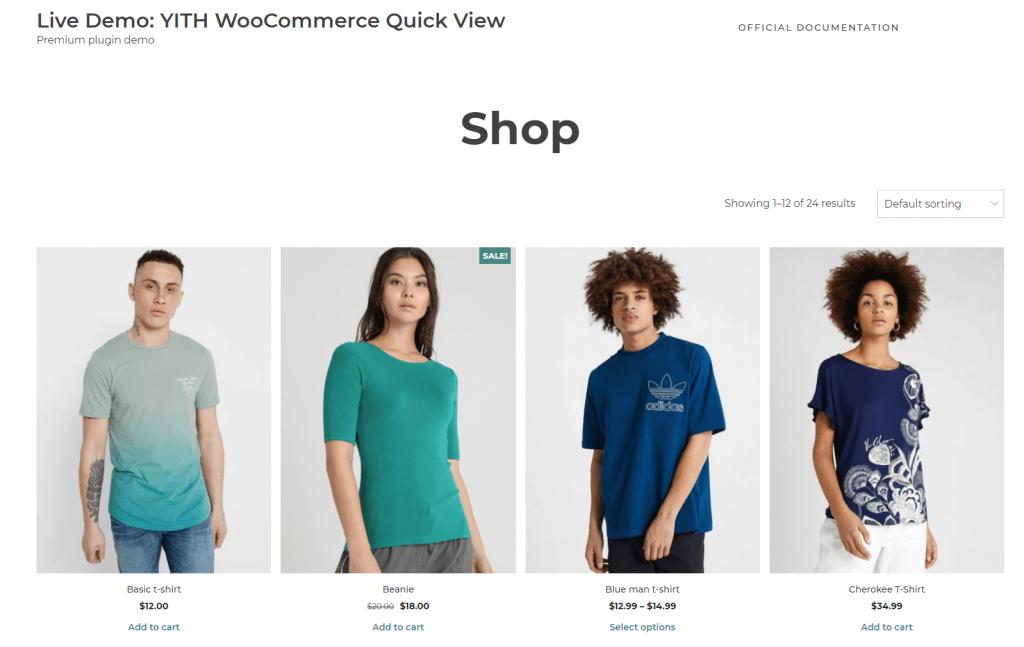 YITH WooCommerce Quick View ScreenShot