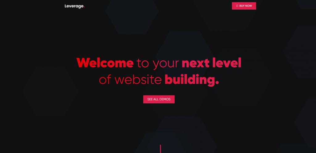 Leverage WordPress theme ss
