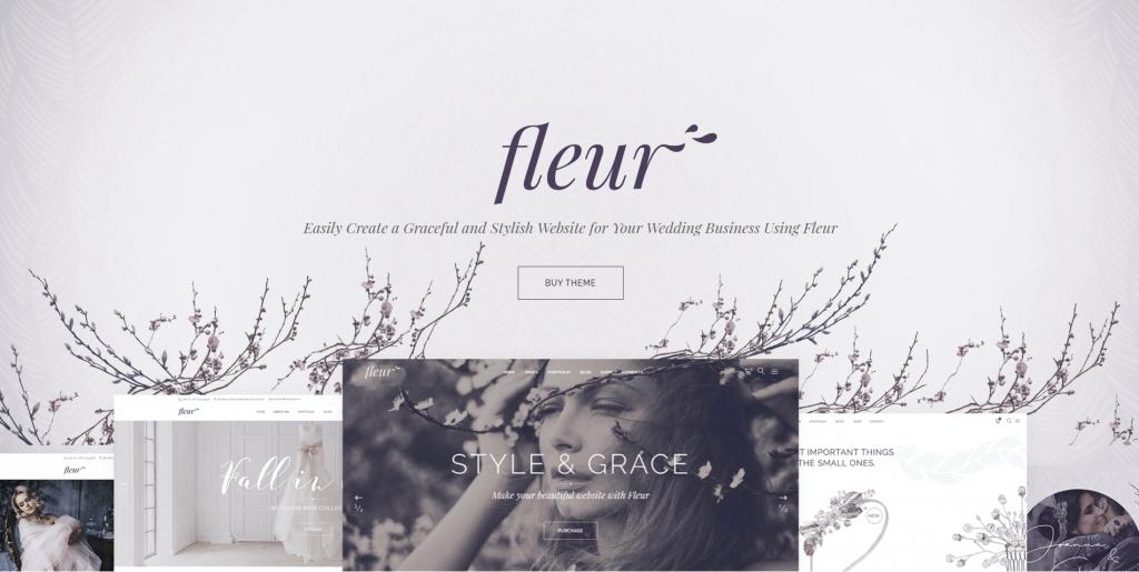Fleur - Wedding Theme ss