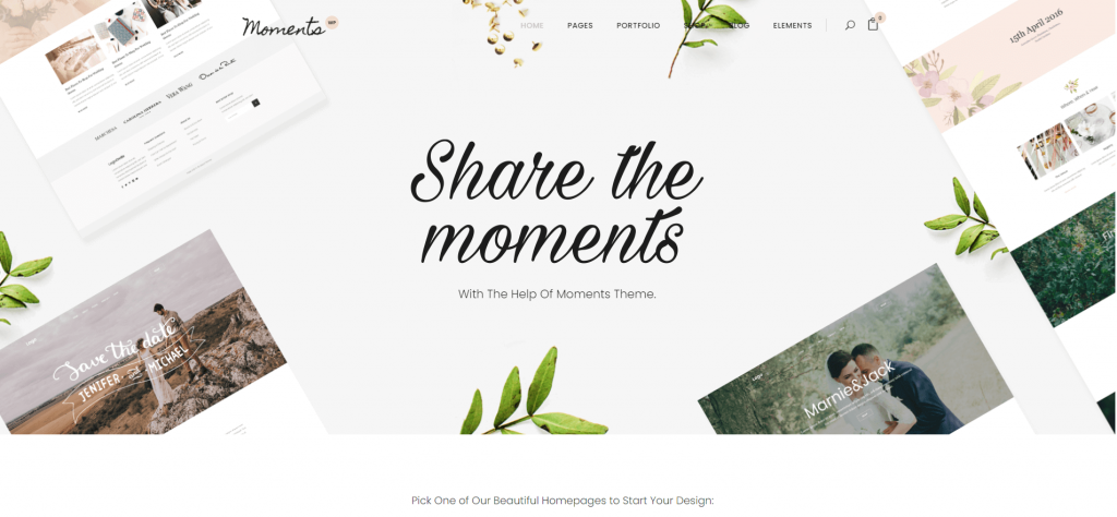 Moments - Wedding & Event Theme ss