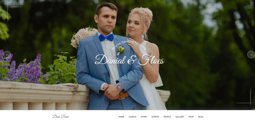 Pratty - Wedding WordPress Theme ss