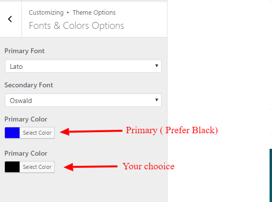 Style blog Theme documentation 16