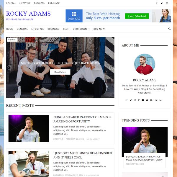 Style blog pro demos 3