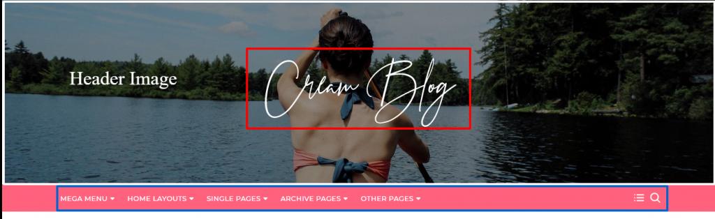Cream Blog Theme Documentation 7