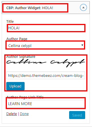 Cream Blog Theme Documentation 62