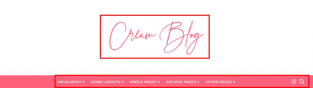 Cream Blog Theme Documentation 10
