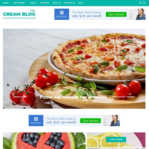 Cream blog pro demos 4