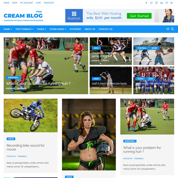 Cream blog pro demos 6
