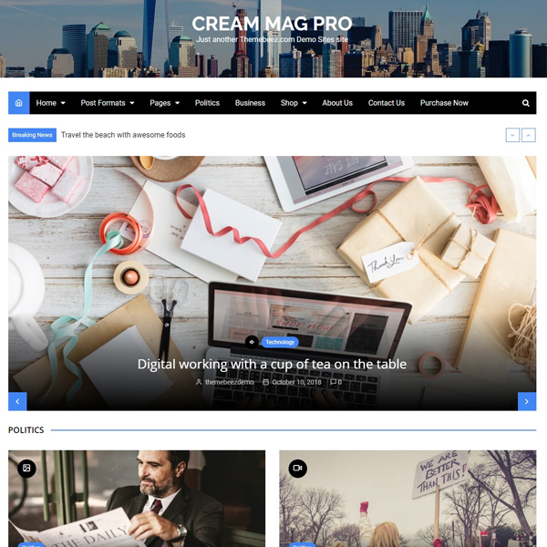 Cream Mag Pro Demo 2