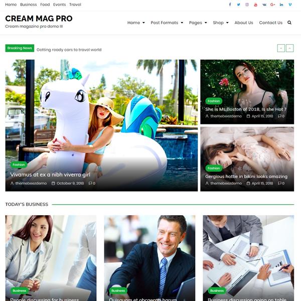 Cream Mag Pro Demo 3