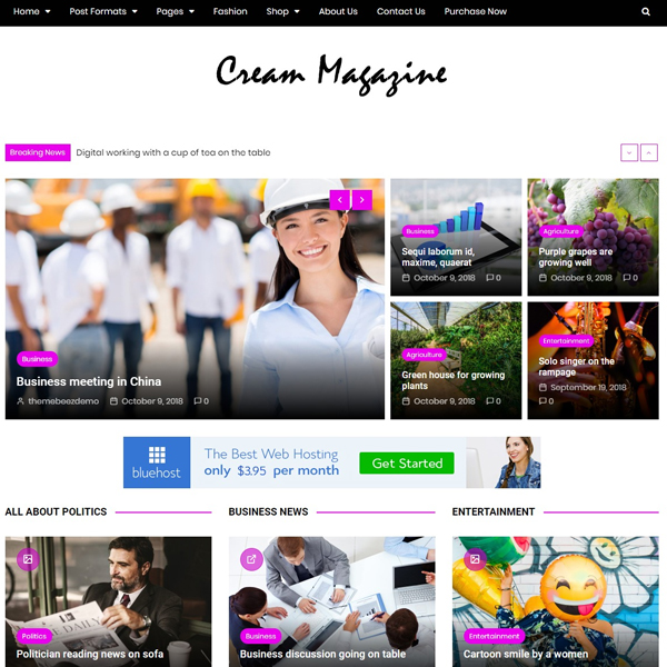 Cream Mag Pro Demo 5