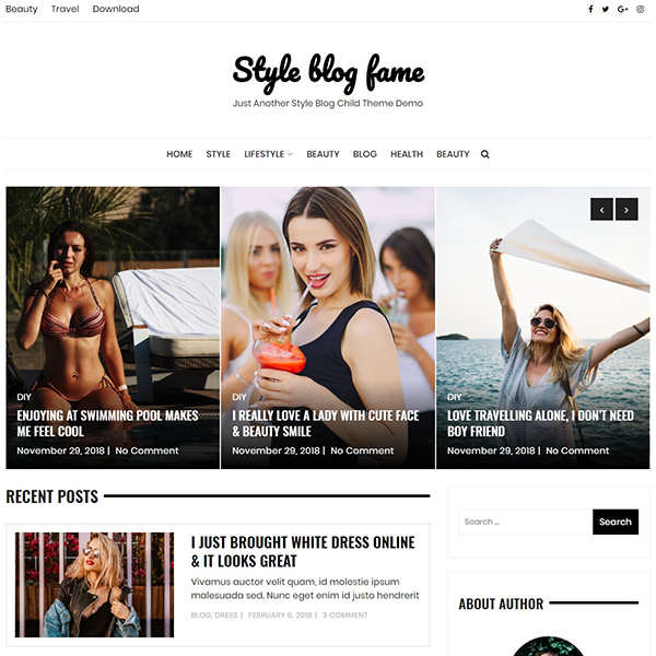 Style Blog Fame