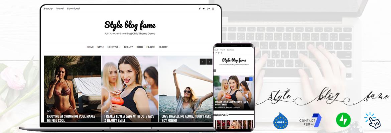 Style blog fame