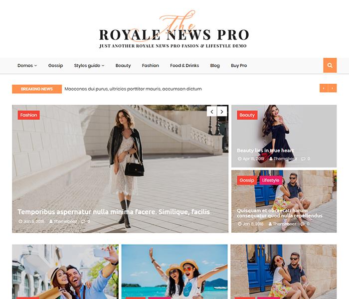 Royale news pro demos 3