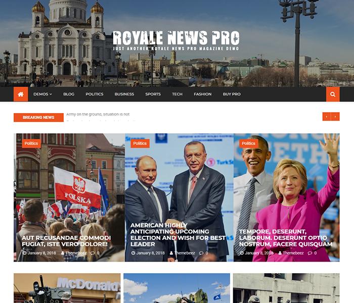 Royale news pro demos 2